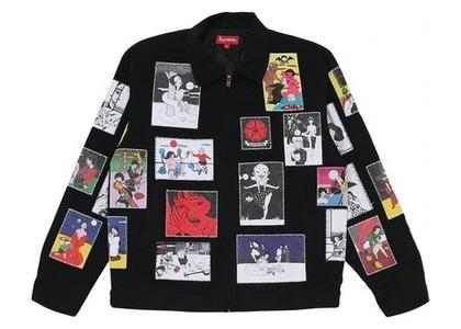 Supreme Toshio Saeki/Supreme Work Jacket Blackの写真