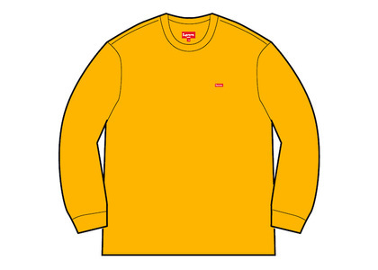 Supreme Small Box L/S Tee (FW20) Goldの写真