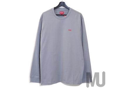 Supreme Small Box L/S Tee (FW20) Greyの写真