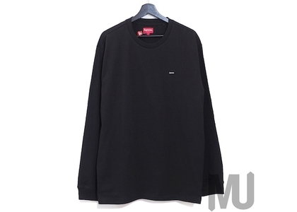 Supreme Small Box L/S Tee (FW20) Blackの写真