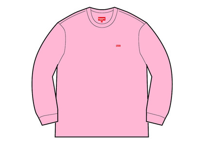 Supreme Small Box L/S Tee (FW20) Pinkの写真