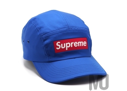 Supreme Inset Logo Camp Cap Royalの写真