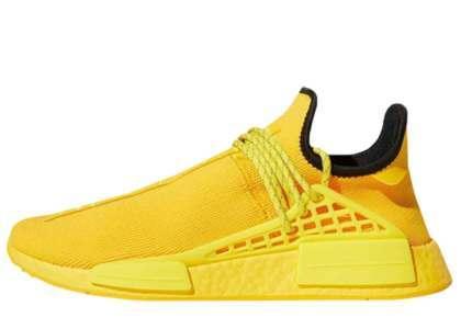 Pharrell Williams × Adidas NMD Bold Goldの写真