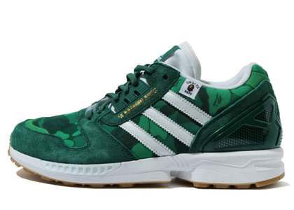 Bape x Undefeated x Adidas ZX 8000 Greenの写真