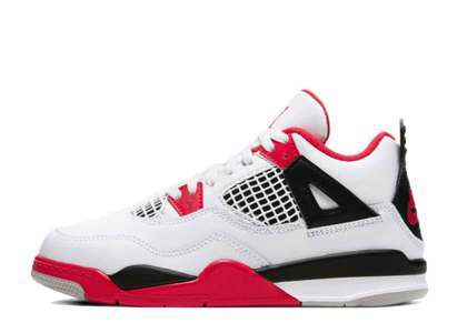 Nike Air Jordan 4 Retro Fire Red PSの写真