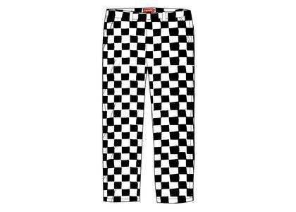 Supreme Velvet Trouser Checkerboardの写真