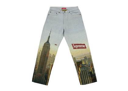 Supreme Aerial Tapestry Regular Jean Multicolorの写真