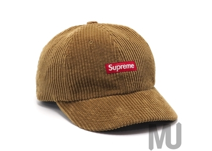 Supreme Ripple Corduroy Small Box 6-Panel Brownの写真