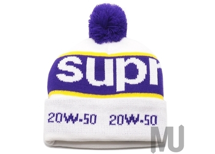 Supreme Garage Beanie Whiteの写真