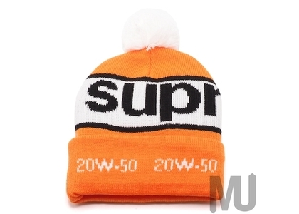 Supreme Garage Beanie Orangeの写真