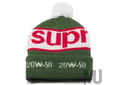 Supreme Garage Beanie Greenの写真