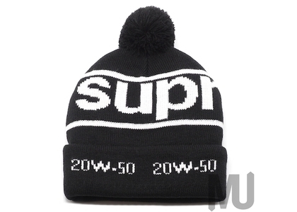 Supreme Garage Beanie Blackの写真