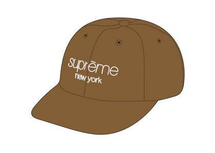 Supreme 2-Tone Canvas 6-Panel Yellowの写真