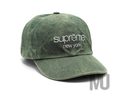 Supreme 2-Tone Canvas 6-Panel Greenの写真