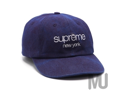 Supreme 2-Tone Canvas 6-Panel Blueの写真