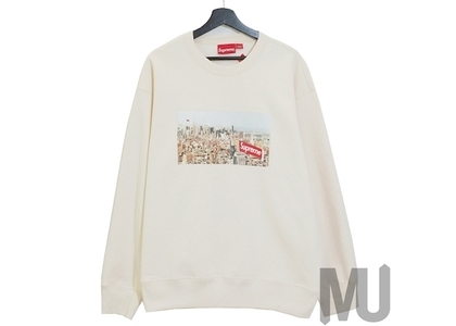 Supreme Aerial Crewneck Naturalの写真