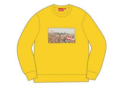 Supreme Aerial Crewneck Lemonの写真