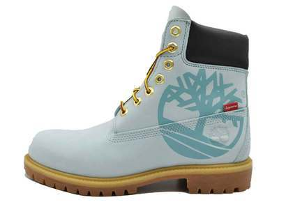 "Timberland × Supreme 6"" Boot Ice Blueの写真"