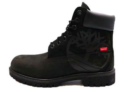 "Timberland × Supreme 6"" Boot Blackの写真"