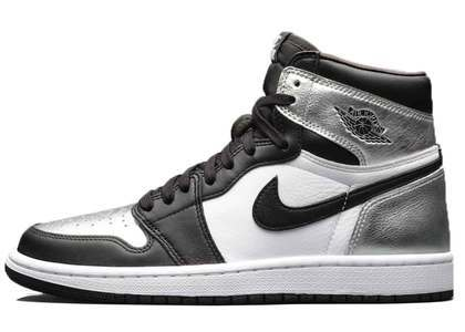 Nike Air Jordan 1 Retro High OG Silver Toe Womensの写真