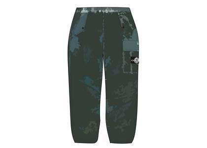 Supreme Stone Island Painted Camo Nylon Cargo Pant Dark Tealの写真