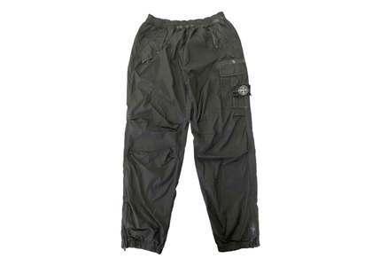 Supreme Stone Island Painted Camo Nylon Cargo Pant Blackの写真