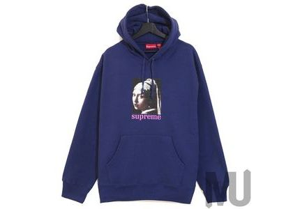 Supreme Pearl Hooded Sweatshirt Washed Navyの写真