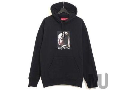 Supreme Pearl Hooded Sweatshirt Blackの写真