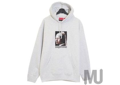Supreme Pearl Hooded Sweatshirt Ash Greyの写真