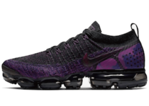 Nike Air Vapormax Flyknit 2 Black Vivid Purple の写真