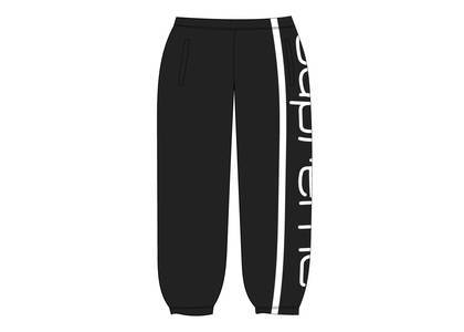 Supreme Big Logo Paneled Sweatpant Blackの写真