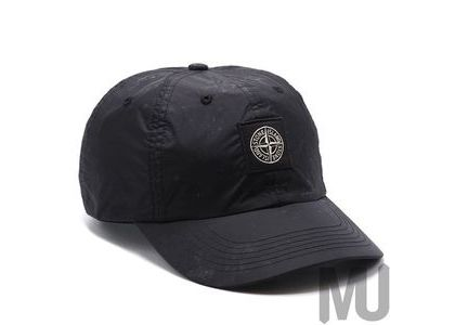 Supreme Stone Island Nylon 6-Panel Blackの写真