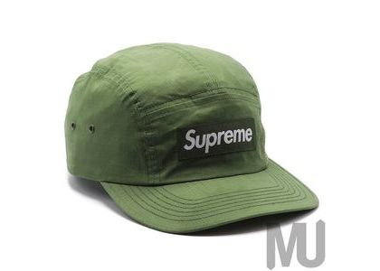 Supreme Dry Wax Cotton Camp Cap Oliveの写真