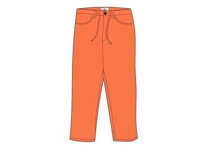 Supreme Stone Island Corduroy Pant Orangeの写真