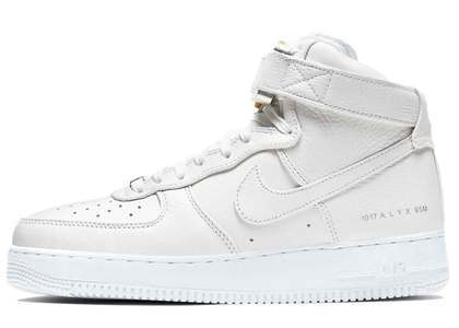 Alyx × Nike Air Force 1 High Triple Whiteの写真