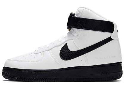 Alyx × Nike Air Force 1 High White Black の写真
