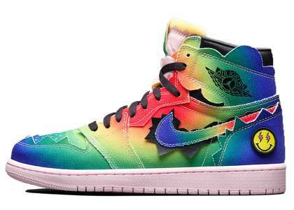 J Balvin × Nike Air Jordan 1 Retro High OGの写真