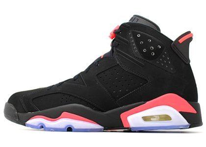 Nike Air Jordan 6 Retro Infrared Black (2014) の写真