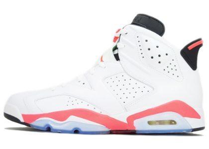 Nike Air Jordan 6 Retro White Infrared (2014) の写真