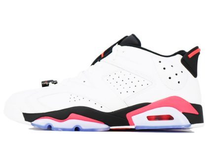 Nike Air Jordan 6 Retro Low White Infrared の写真