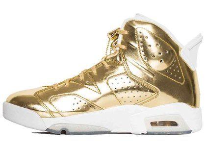 Nike Air Jordan 6 Retro Pinnacle Metallic Gold の写真