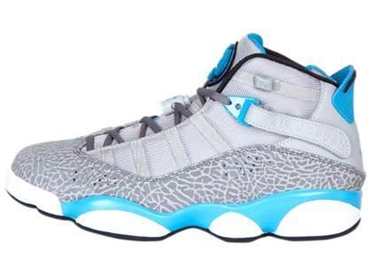 Nike Air Jordan 6 Rings Powder Blue Elephant の写真