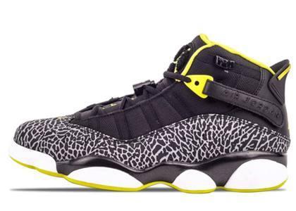 Nike Air Jordan 6 Rings Venom Green の写真
