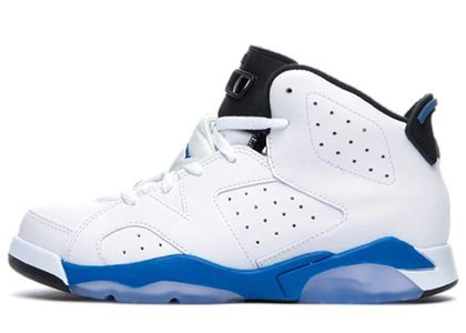 Nike Air Jordan 6 Retro Sport Blue PSの写真