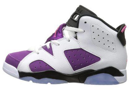 Nike Air Jordan 6 Retro Bright Grape PSの写真