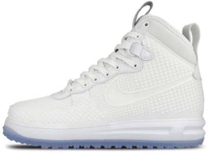 Nike Lunar Force 1 Duckboot All Whiteの写真
