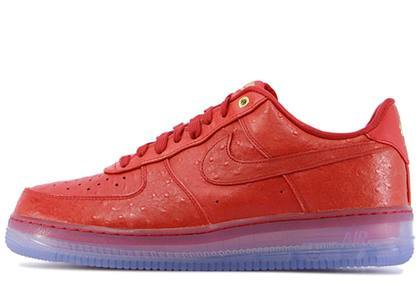 Nike Air Force 1 CMFT Lux Low Ostrich Redの写真