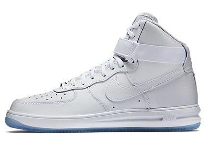 Nike Lunar Force 1 High White Clear (2015) の写真