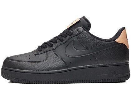 Nike Air Force 1 Low Black Vachetta Tanの写真