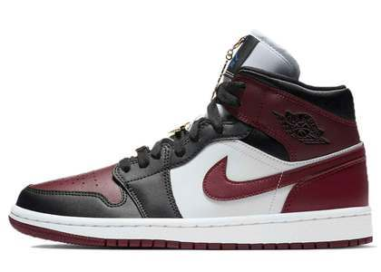 Nike Air Jordan 1 Mid SE Darkbee Troot Womensの写真
